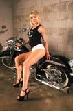 Tiro della rivista di Rena Riffel Strip Club Choppers fotografia stock libera da diritti