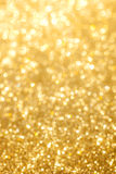 Fondo dorato brillante Fotografia Stock Libera da Diritti