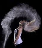 Tiro di foto della polvere Fotografie Stock