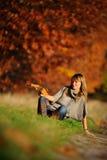 Tiro di foto di autunno Fotografie Stock