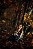 Tiro di foto di autunno Fotografie Stock Libere da Diritti