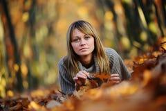 Tiro di foto di autunno Fotografia Stock