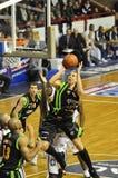 Tiro di pallacanestro Immagine Stock Libera da Diritti