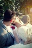 Tiro do casamento Fotos de Stock