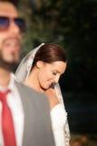 Tiro do casamento imagens de stock