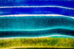 Tiro do close up da textura vitrificada da cerâmica fotografia de stock