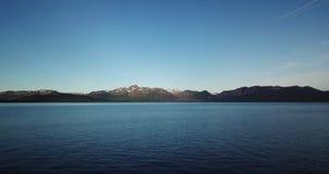 Tiro do das montanhas e do Lake Tahoe EUA Nevada imagem de stock
