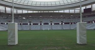Tiro do estádio vazio 4k de Cape Town video estoque