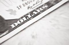 Tiro do macro do dólar Fotos de Stock