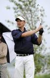 Tiro do T de golfe Fotografia de Stock