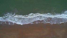Tiro do zangão da praia vídeos de arquivo