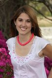 Tiro ereto floral Imagem de Stock Royalty Free