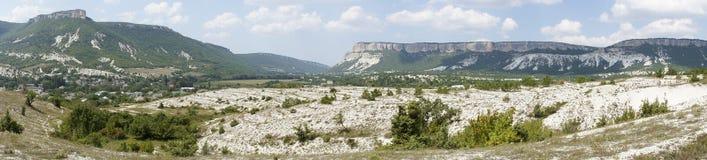 Tiro escénico del paisaje de la montaña Fotos de archivo libres de regalías