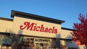 Tiro exterior de la tienda de Michaels