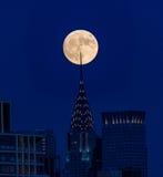 Tiro famoso - lua super imagem de stock royalty free