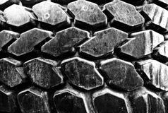 Tiro frontale di Autoreifen in bianco e nero Immagine Stock Libera da Diritti