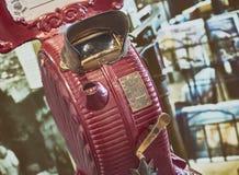 Tiro granulado de Mutoscope, um cinema Proto vitoriano Fotos de Stock Royalty Free