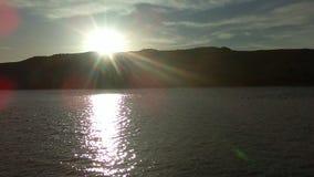 Tiro impressionante do lago de madeira de prata imagem de stock royalty free