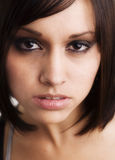 Tiro joven hermoso de la pista de la actriz Imagen de archivo libre de regalías