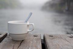 Tiro macio do copo de café Imagens de Stock