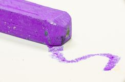Tiro macro da cor pastel colorida Imagem de Stock