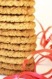 Tiro macro de galletas fotografía de archivo libre de regalías