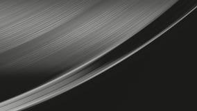 Tiro macro de la superficie giratoria del expediente de negro vinilo de A