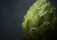 Tiro macro de la verdura de la alcachofa Fotos de archivo