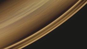 Tiro macro de A que gira la superficie de oro del disco de vinilo y sus surcos de la pista en The Edge