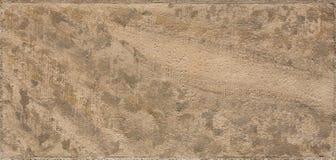 Tiro macro de um tijolo bege do arenito Imagem de Stock