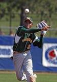 Tiro maggiore di serie di mondo di baseball della lega Fotografie Stock