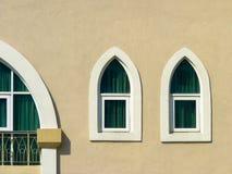 Tiro minimalista de una ventana Fotos de archivo libres de regalías