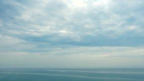 Tiro panorâmico do mar do norte filme