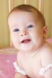 Tiro principal do bebé imagens de stock