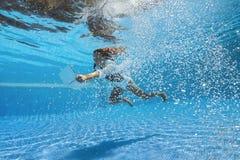 Tiro subacqueo fotografie stock