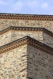 Tiro vertical do quadro de 500 anos de mesquita masony velha em lugares locais de Turquia imagens de stock