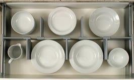 Tiroir dans une cuisine moderne Photo stock