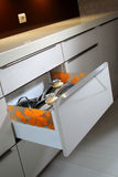 Tiroir de cuisine Photos stock