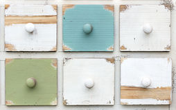 Tiroirs colorés Images stock