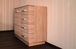 tiroirs de coffre modernes Image stock