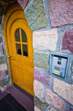 Tirol house door detail Royalty Free Stock Images