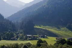 Tirol landscape Royalty Free Stock Images
