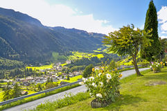 Tirol landscape. Typical landscape, Alps valley, in South Tirol (Alto Adige Royalty Free Stock Photo