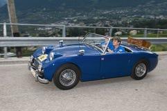 Tirol sul cars_2014_ clássico Austin HEALEY Sprite MK 1 Imagem de Stock Royalty Free