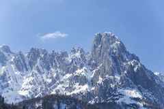 Tirolean Alpen royalty-vrije stock foto