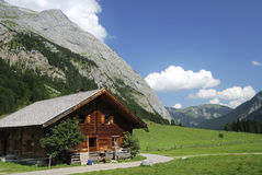 Tirolean hut Royalty Free Stock Photography