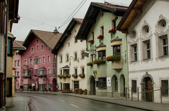 Tirolean street Stock Photo