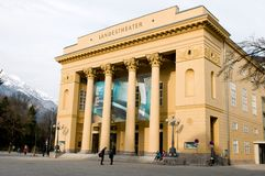 Tiroler Landestheater Innsbruck Stock Photography