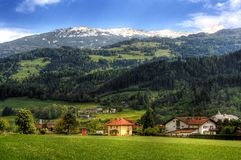 Tirolerisches idyl Stockfotografie