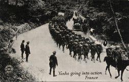 Tirones que entran la acción Francia Fotografía de archivo